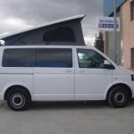 furgoneta vw T5 camperizada