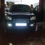 Land Rover Freelander 2 - Luz diurna encendida